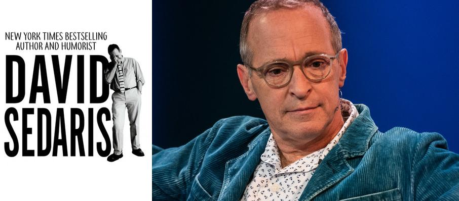 David Sedaris at State Theater