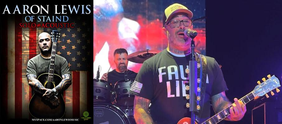 Aaron Lewis at First Avenue