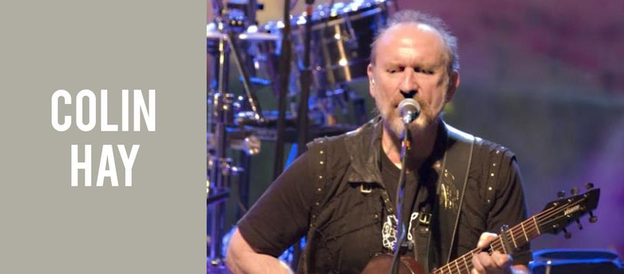 Colin Hay at Pantages Theater