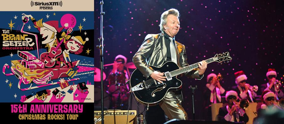 Brian Setzer Orchestra: Christmas Rocks at State Theater