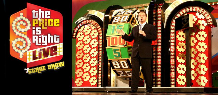 The Price Is Right - Live Stage Show at Mystic Lake Showroom