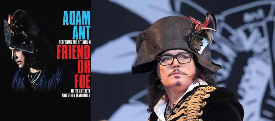Adam Ant at Pantages Theater