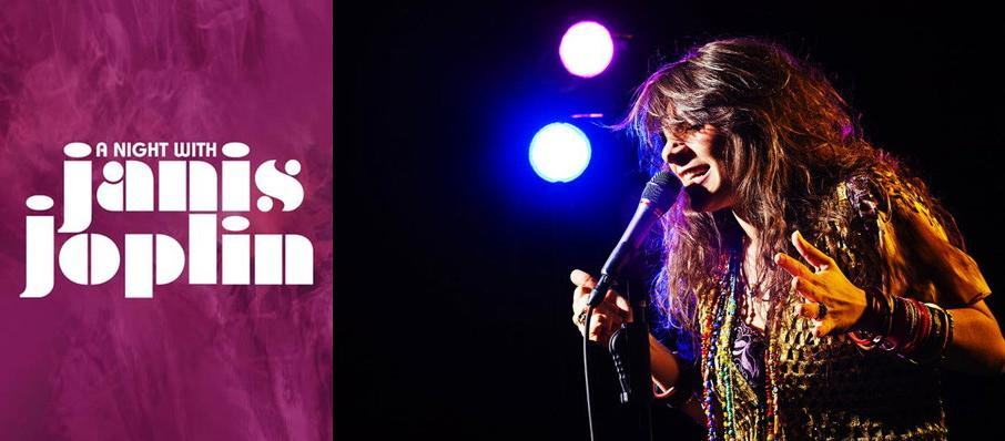 A Night with Janis Joplin at Mystic Lake Showroom