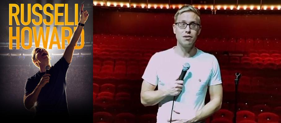 Russell Howard at Varsity Theater