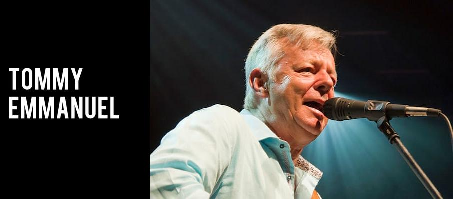 Tommy Emmanuel at Proscenium Main Stage
