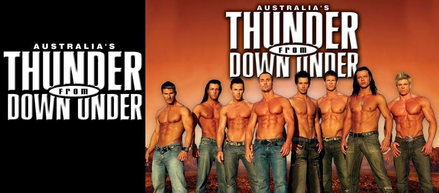 Thunder From Down Under at Medina Entertainment Center
