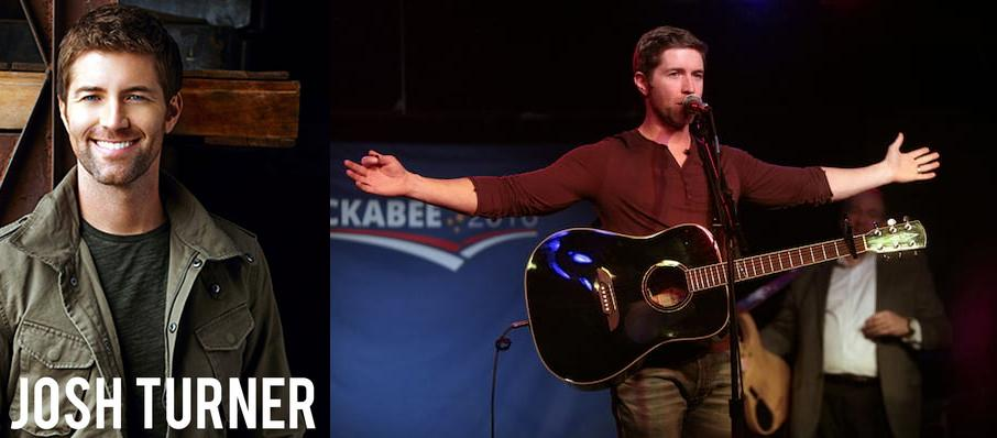 Josh Turner at Verizon Wireless Center