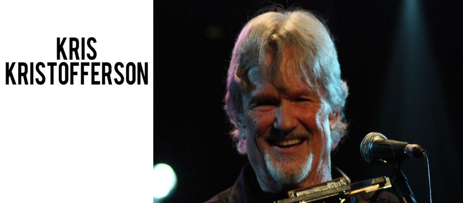 Kris Kristofferson at Pantages Theater