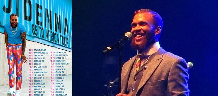 Jidenna at First Avenue