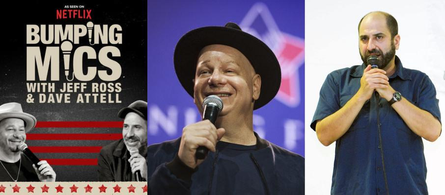 Jeff Ross and Dave Attell at Mystic Lake Showroom