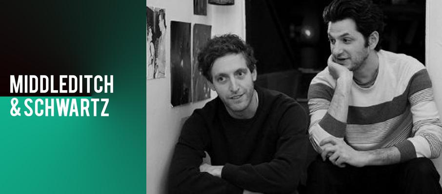 Middleditch and Schwartz at State Theater