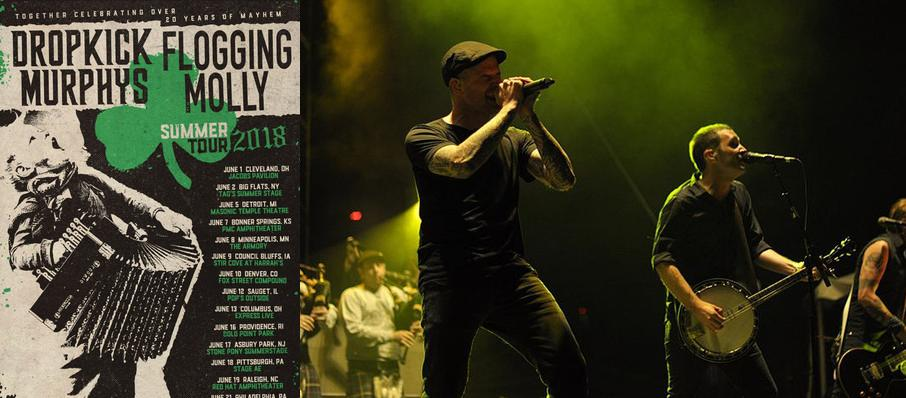 Dropkick Murphys and Flogging Molly at Minneapolis Armory