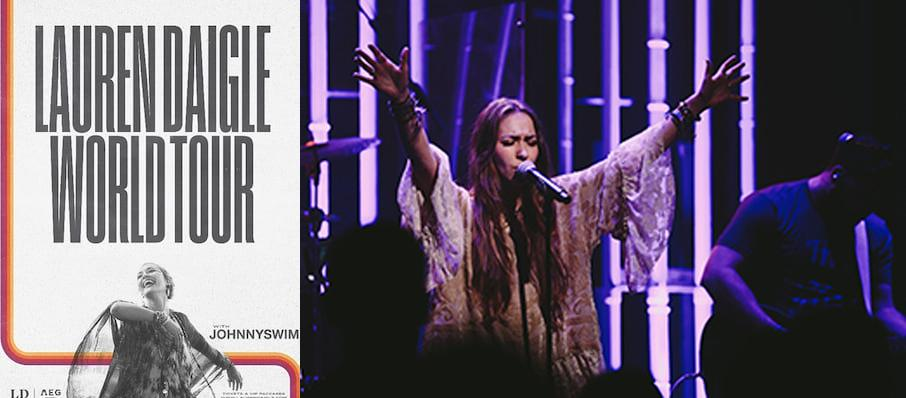 Lauren Daigle at Orpheum Theater