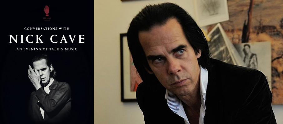 Conversations with Nick Cave at Pantages Theater