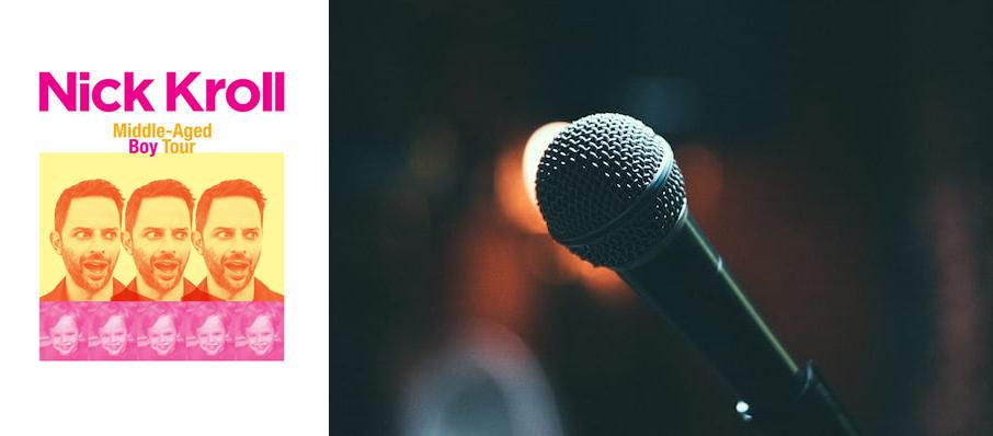 Nick Kroll at Pantages Theater