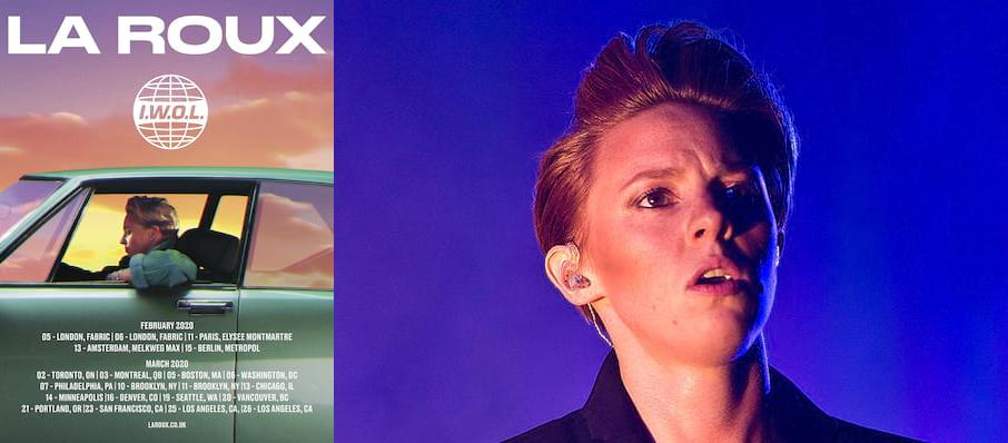 La Roux at Varsity Theater