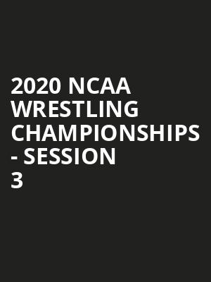 2020 NCAA Wrestling Championships - Session 3 at US Bank Stadium