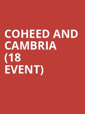 Coheed and Cambria (18+ Event) at First Avenue