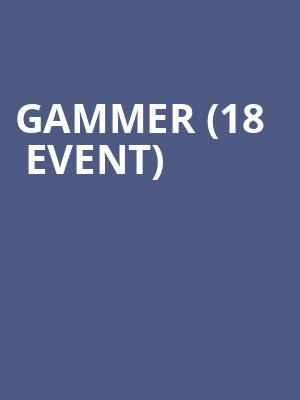 Gammer (18+ Event) at Skyway Theater