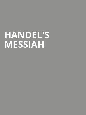 Handel's Messiah at Orchestra Hall