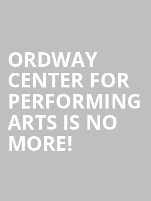Ordway Center For Performing Arts is no more