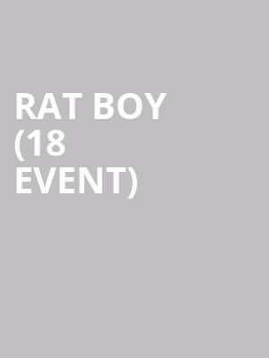 Rat Boy (18+ Event) at 7th Street Entry