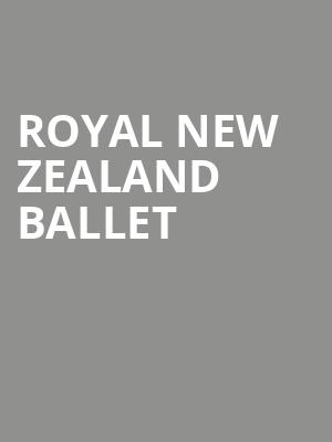 Royal New Zealand Ballet at Orpheum Theater