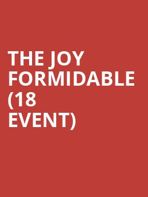 The Joy Formidable (18+ Event) at Fine Line Music Cafe