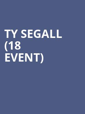 Ty Segall (18+ Event) at First Avenue