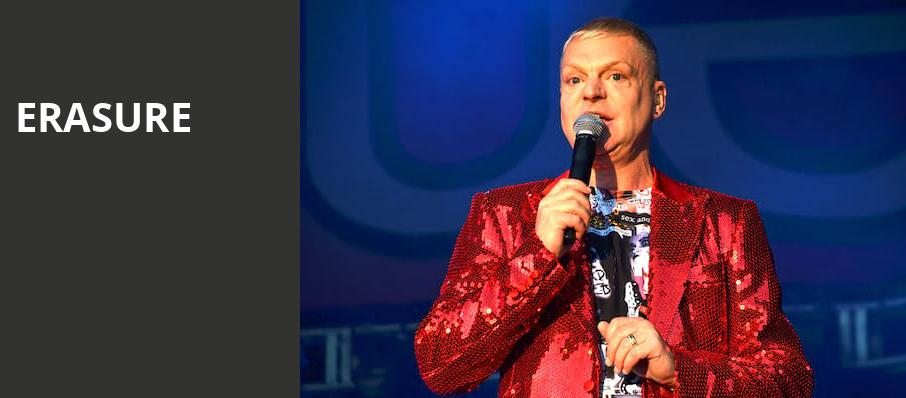 Erasure, State Theater, Minneapolis