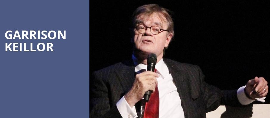 Garrison Keillor, Pantages Theater, Minneapolis