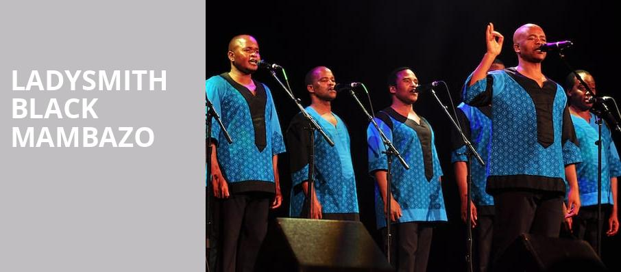 Ladysmith Black Mambazo, Orchestra Hall, Minneapolis
