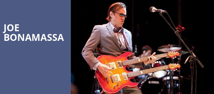Joe Bonamassa, Orpheum Theater, Minneapolis