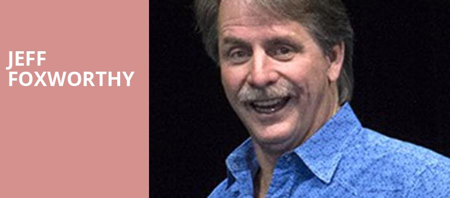 Jeff Foxworthy, Orpheum Theater, Minneapolis