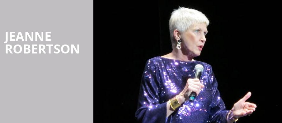 Jeanne Robertson, Pantages Theater, Minneapolis