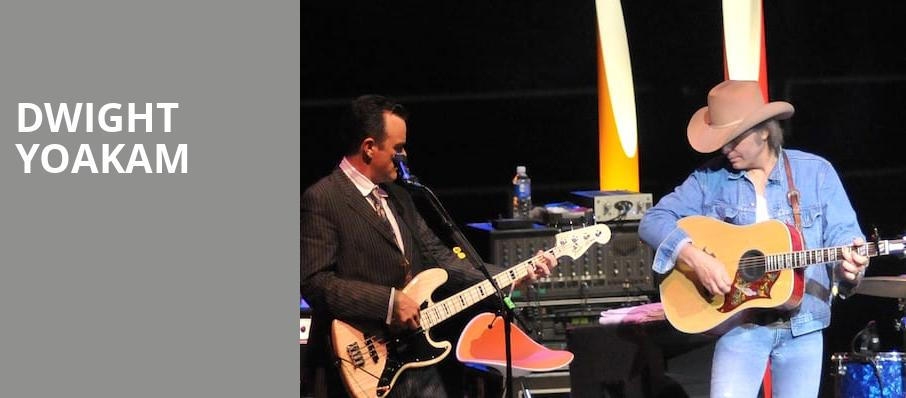 Dwight Yoakam, Mystic Lake Showroom, Minneapolis
