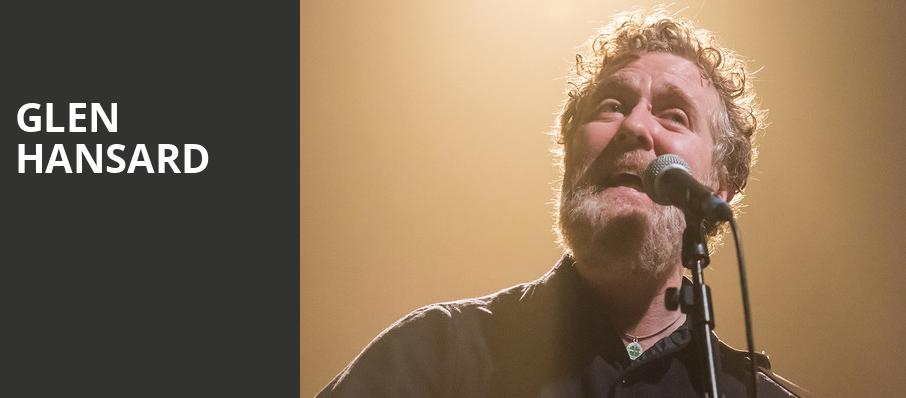 Glen Hansard, State Theater, Minneapolis