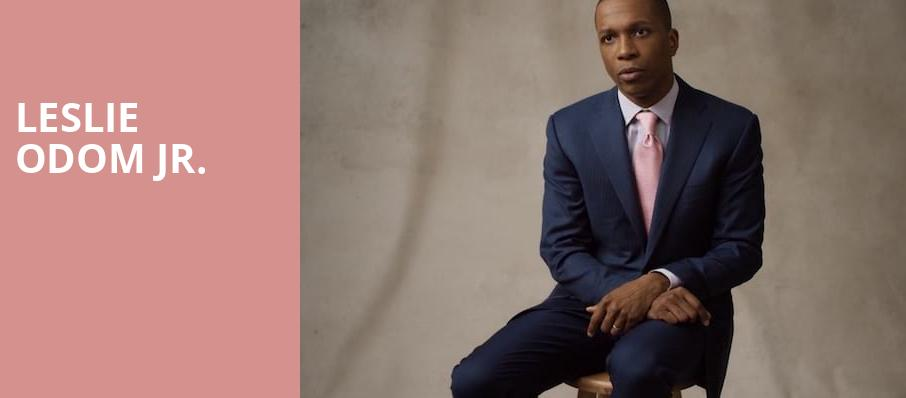Leslie Odom Jr, Fine Line Music Cafe, Minneapolis