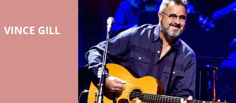 Vince Gill, Orpheum Theater, Minneapolis