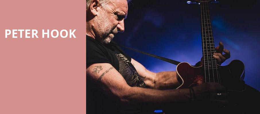 Peter Hook, First Avenue, Minneapolis
