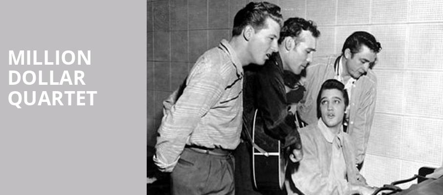 Million Dollar Quartet, Mystic Lake Showroom, Minneapolis