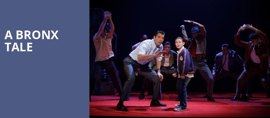 A Bronx Tale, Orpheum Theater, Minneapolis