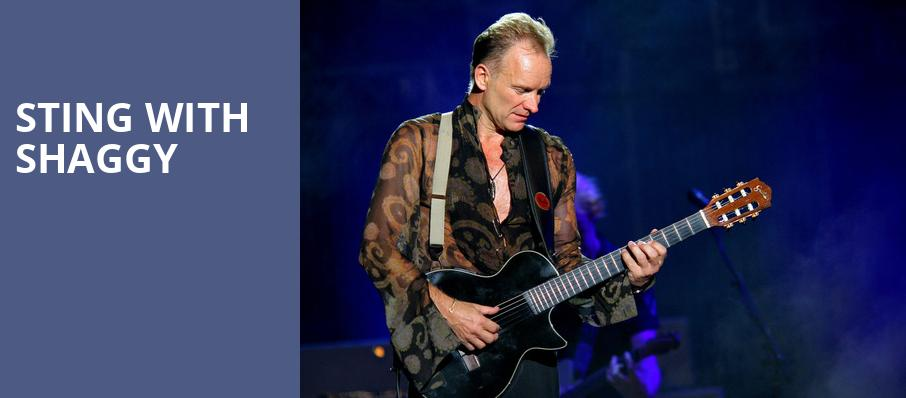 Sting with Shaggy, Minneapolis Armory, Minneapolis
