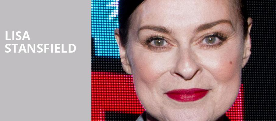Lisa Stansfield, Pantages Theater, Minneapolis