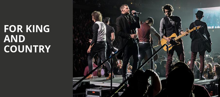 For King And Country, Target Center, Minneapolis
