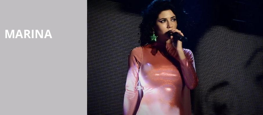 Marina, Orpheum Theater, Minneapolis