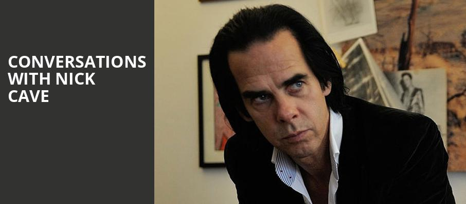 Conversations with Nick Cave, Pantages Theater, Minneapolis