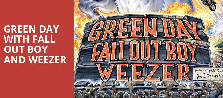 Green Day with Fall Out Boy and Weezer, Target Field, Minneapolis