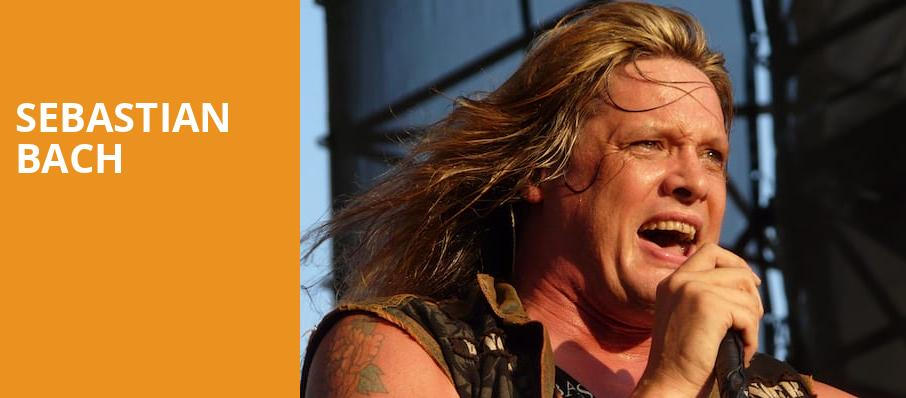 Sebastian Bach, Skyway Theater, Minneapolis