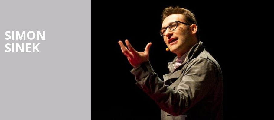 Simon Sinek, Pantages Theater, Minneapolis